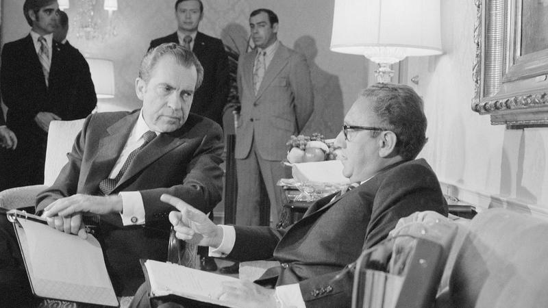 Nixon et Kissinger