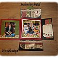 Mini-album Merry christmas-4