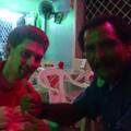 G032 Le 19 juillet : Resto avec Pedro