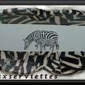 vide-poches zebre