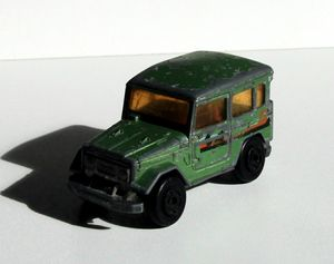 Toyota land cruiser de chez Majorette (1