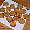 Anzac, biscuits australien aux flocons d'avoine