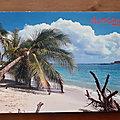 972 Martinique - Plage des caraïbes - écrite