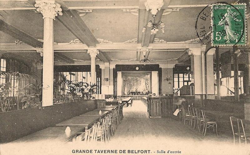 Belfort CPA Fbg France n°35 Grand Taverne Salle d'entrée