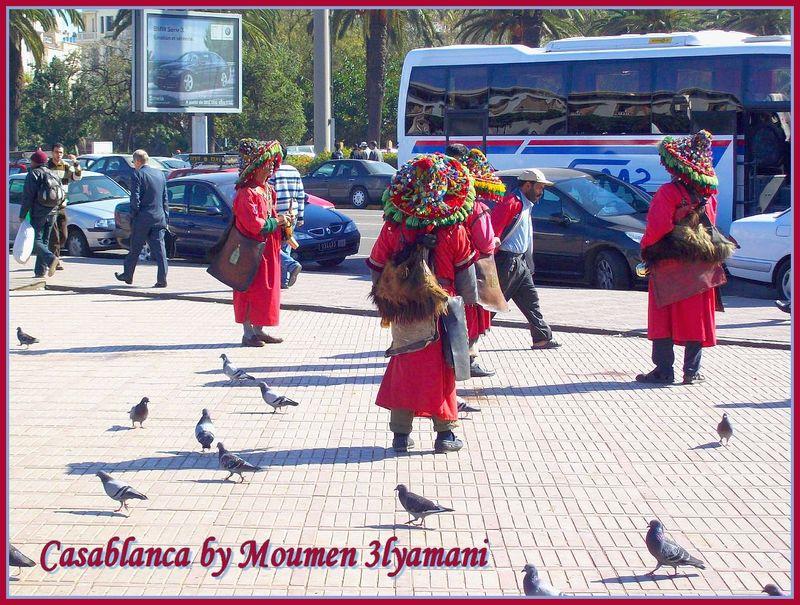 Guerrab place Mohammed V Casablanca