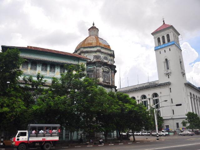 Retour a Yangon
