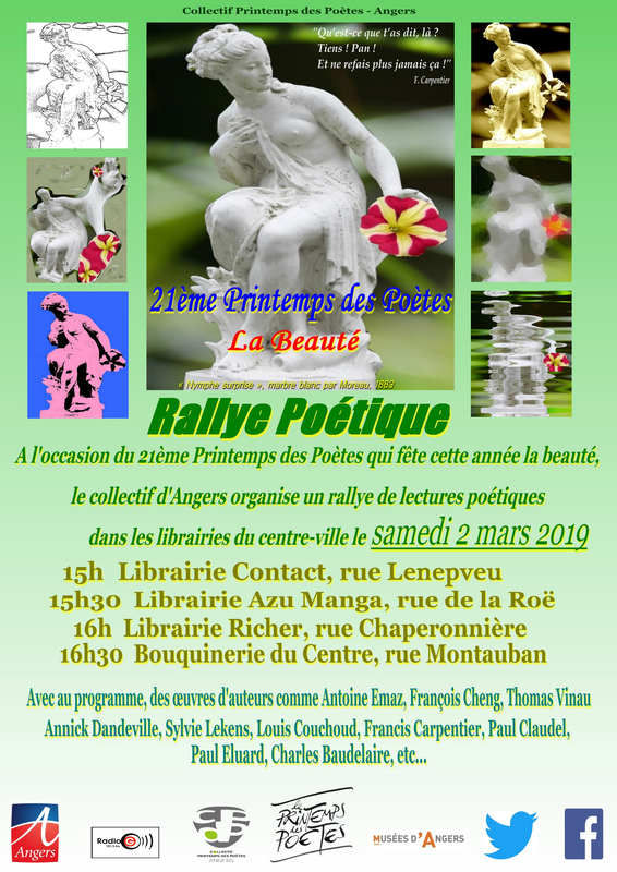 Affiche Annonce Rallye