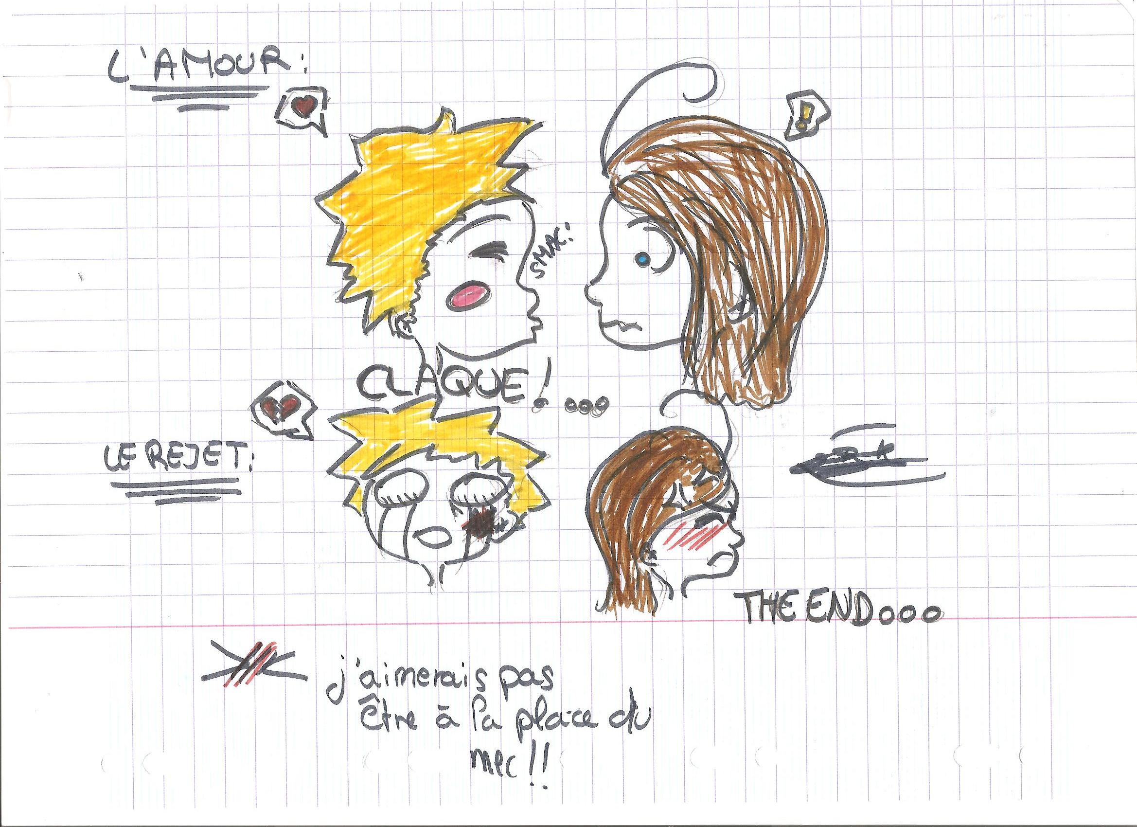 L 39 amour dessin surtout manga - Dessin de l amour ...
