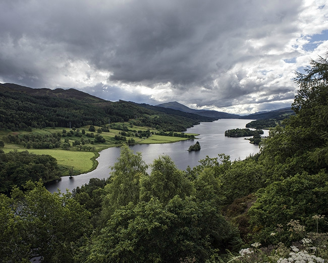 high loch tummel