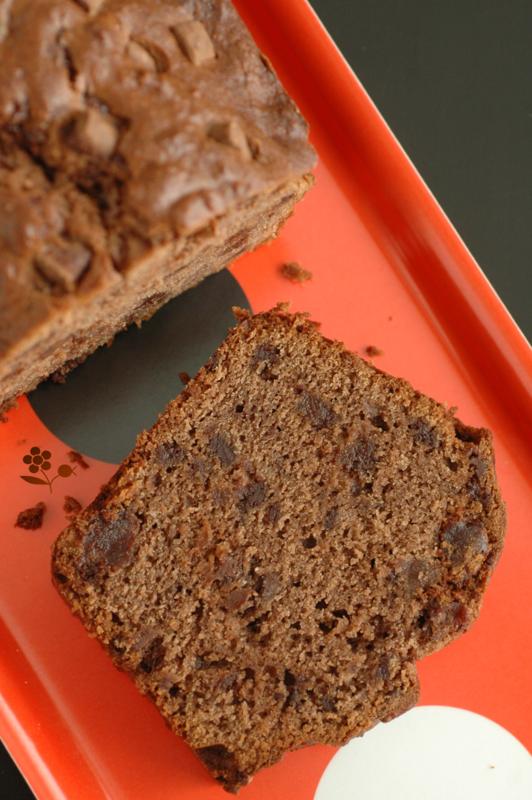 Cake fondant & moelleux pâte d'amande & chocolat_3