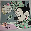 Minnie Mouse Calendrier 2014