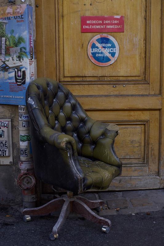 le fauteuil du médecin - 1