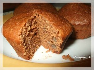 muffins marrons