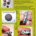 Leçon en images : perle matelassée