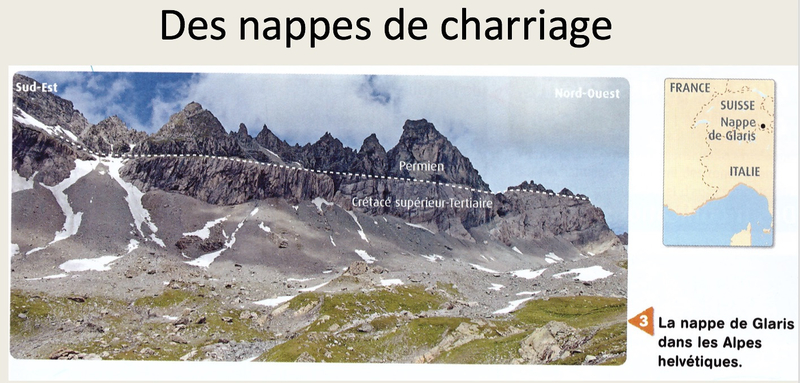 photo nappe de chariage
