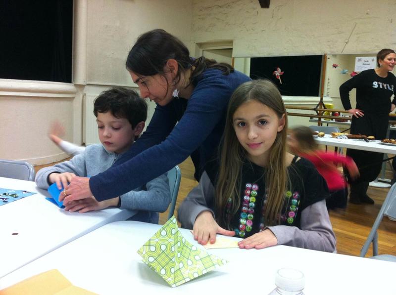 Atelier origami pliage de base