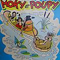 Livre bd ... moky et poupy (1967)