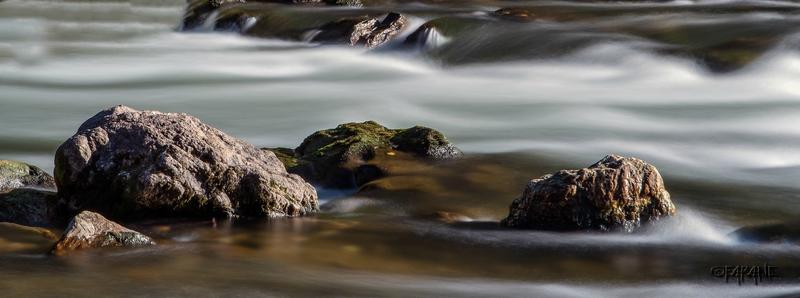 Les rochers de la Nive Pas de Roland Itxassou