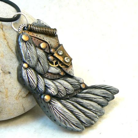 Steampunk wings a