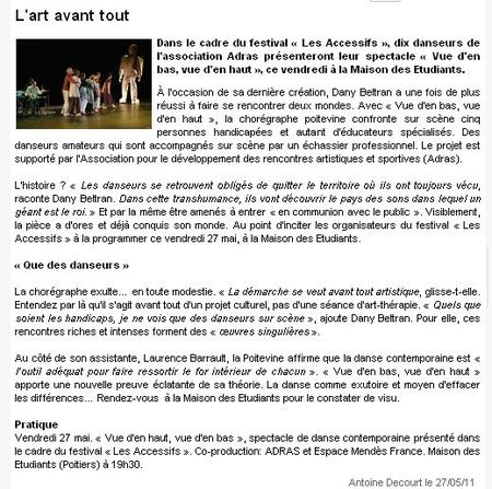 2011-05-27 L'art avant tout