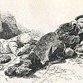 De Neuville, prisonniers allemands (étude)