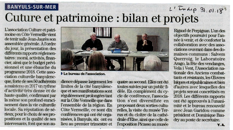 article l'indep 31
