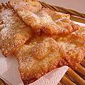 Bugnes lyonnaises pour mardi gras