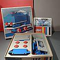Un des premiers coffrets lego sur le thème du train, le