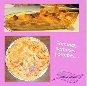 tarte aux pommes bidouille