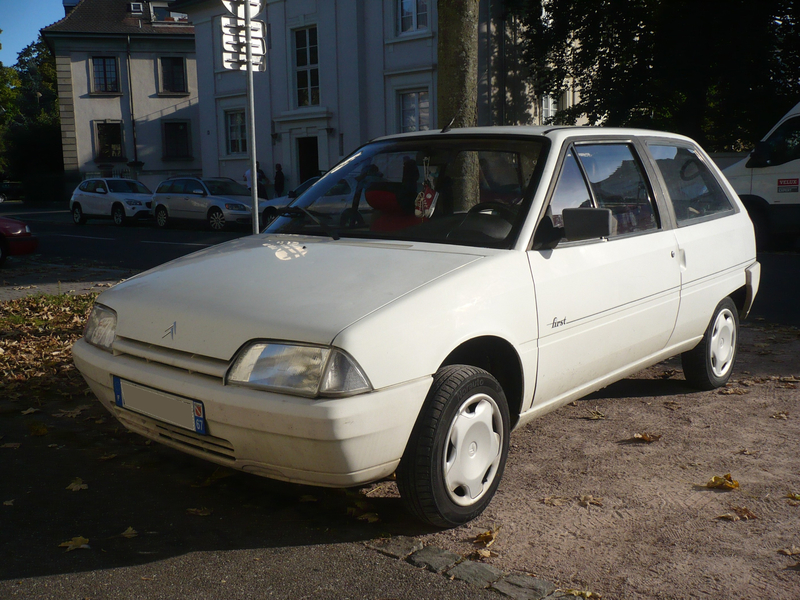 CITROËN AX first berline 3 portes Strasbourg (1)