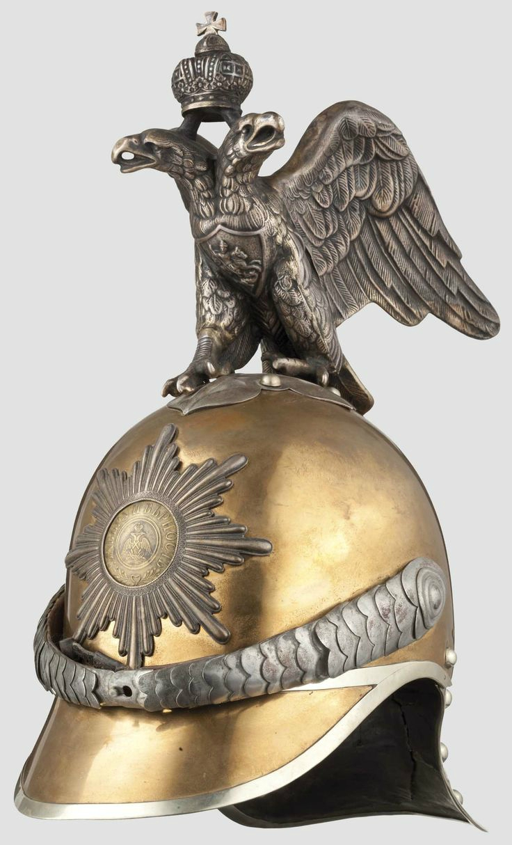 A Russian helmet for enlisted men of the Life Guard H