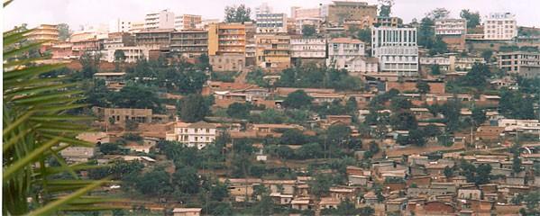 Vue sur Kigali