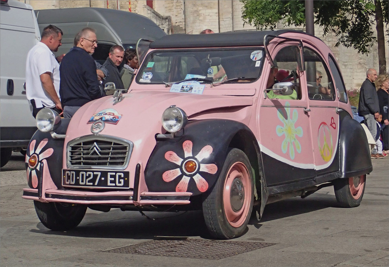 Niort 2 CV power flower 160619
