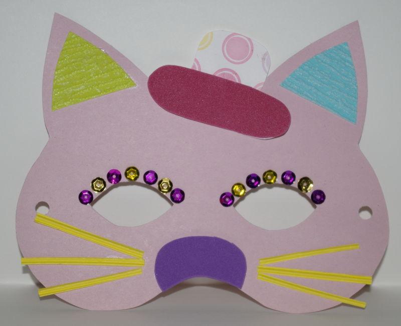 Masques chat imprimer cr er la folie - Masque oiseau a imprimer ...