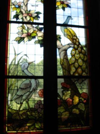 autres fenêtres, en vitrail