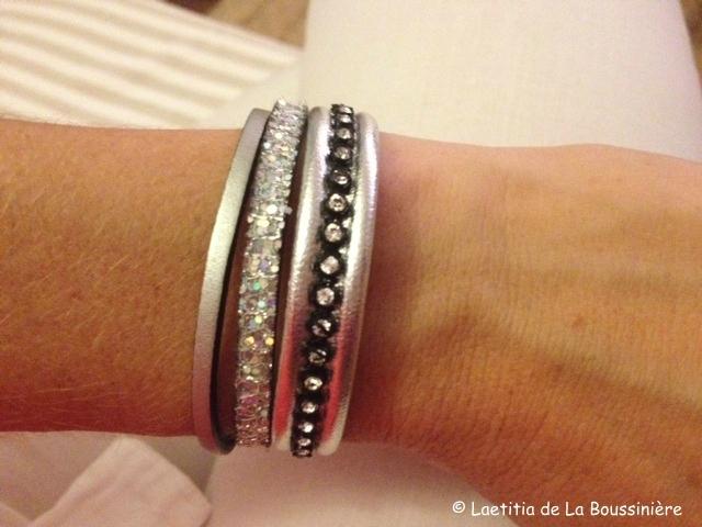 Le bracelet Manchette (argent) d'Amélie