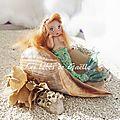 954 - petite sirène rousse ( vendu )