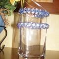 Bracelets torsadés bleus