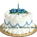 Happy birthday mirrorcle world!