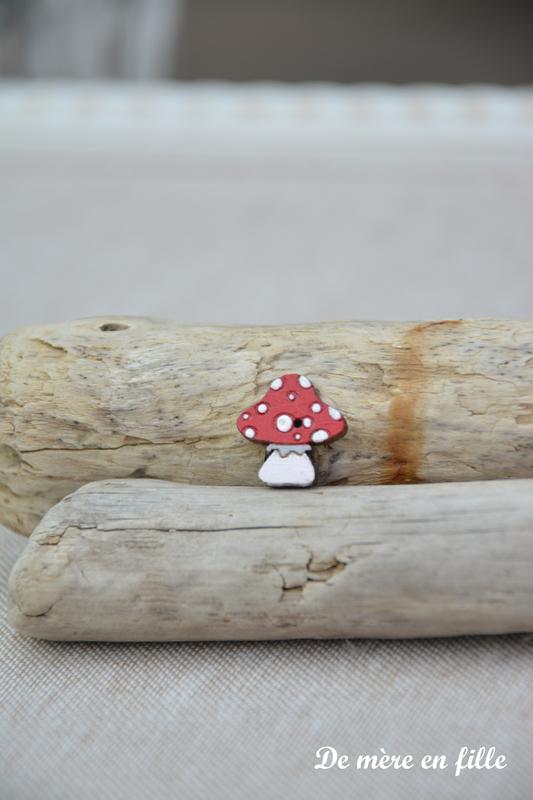 champignon rouge etit