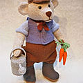 Herbert the gardener bear - alan dart