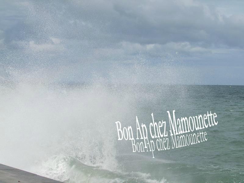 Le sillon de St Malo et ses vagues