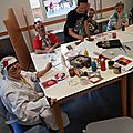 Atelier art-thérapie au fas