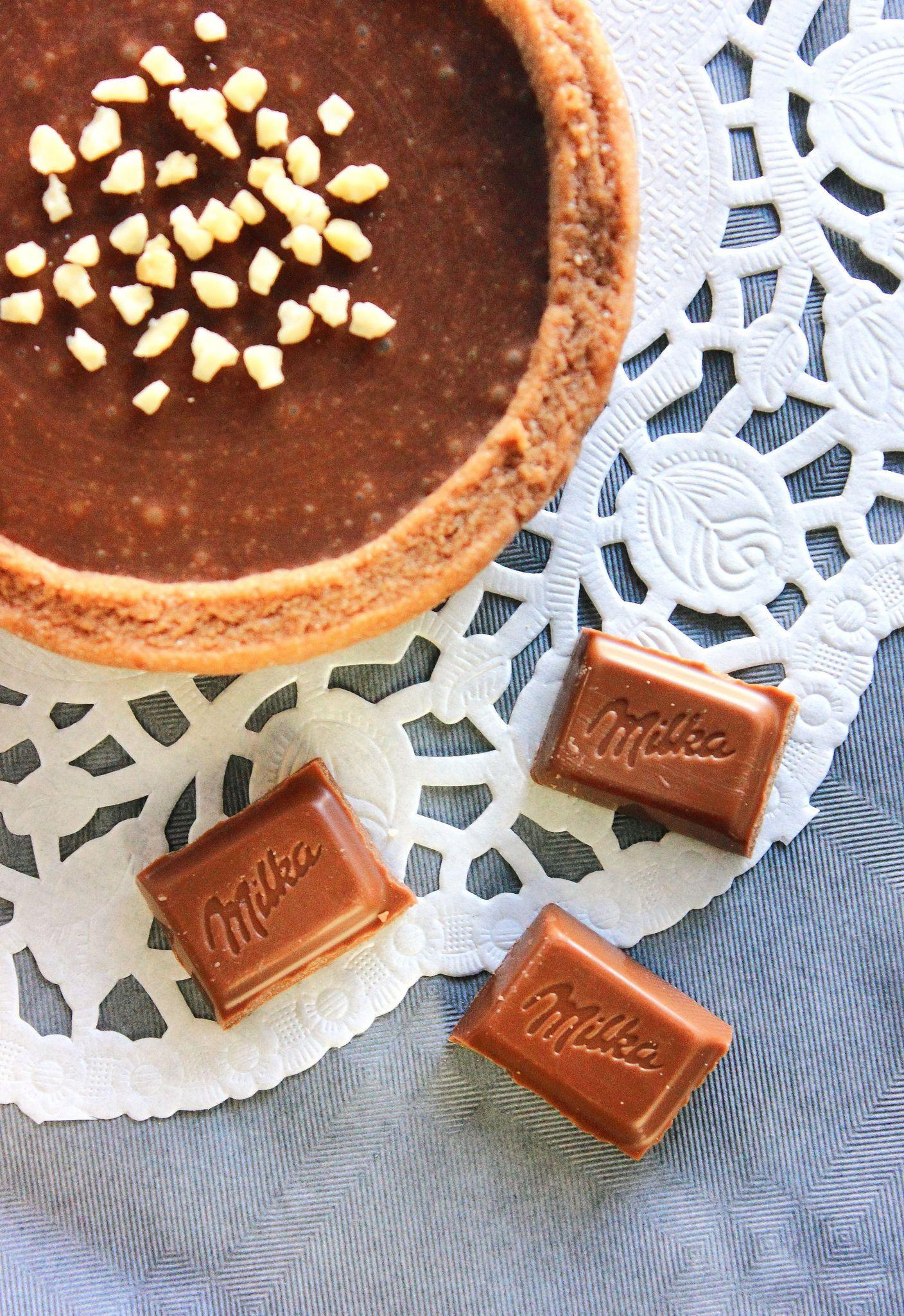 Tartelettes au chocolat Milka1