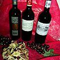 3 vins à tester