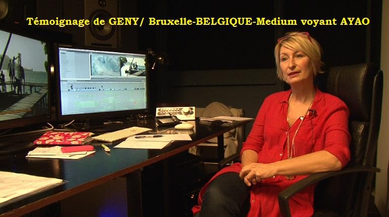 Témoignage de GENY/ Bruxelle-BELGIQUE