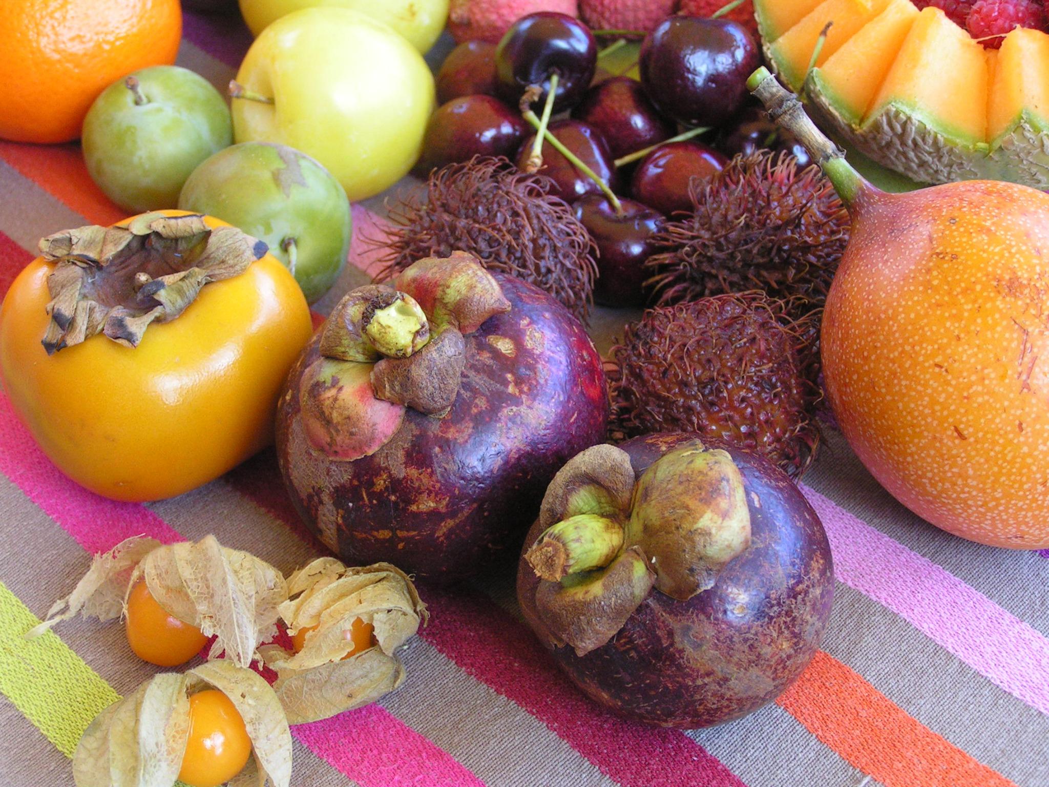 J-20 * Merveilleux fruits exotiques