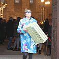2015 - avril - 5 (samedi) - Défilé FEMMES EN CIRES au salon Jardins d'Artistes de TOUQUES (51)