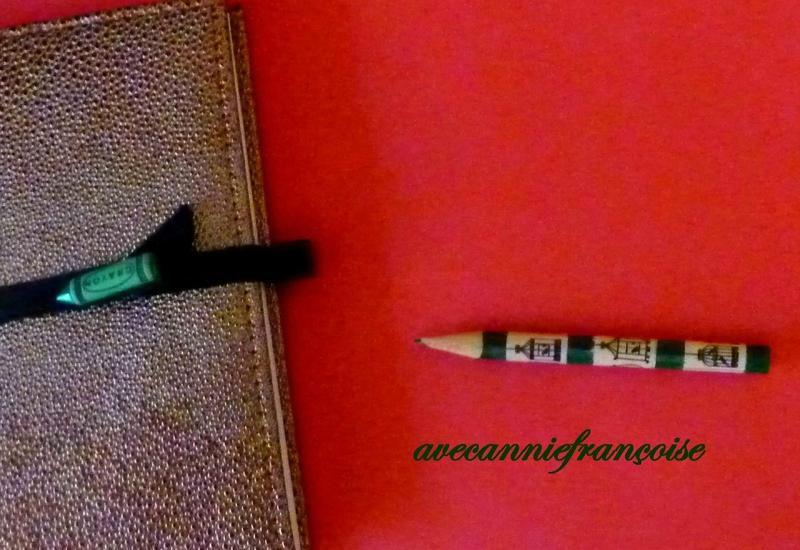 crayon décoré