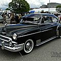 Chevrolet fleetline deluxe 2door sedan-1950